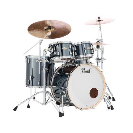 Pearl Session Studio Select Series 4pc Drum Set Black Chrome