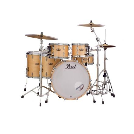 Pearl Session Studio Select Series 5pc shell pack w/22bd - Natural Birch