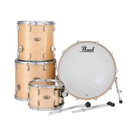 Pearl Session Studio Select Series 4pc shell pack w/24bd - Natural Birch
