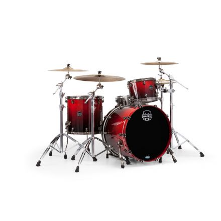 Mapex Saturn V Exotic Rock 3 Piece Shell Pack - Cherry Mist Maple Burl - Blowout!