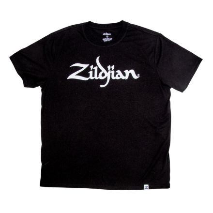 Zildjian Classic Logo Tee Black - X Large