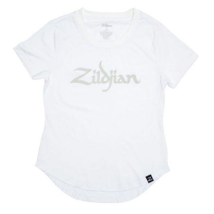Zildjian Womens Logo Tee White - Medium