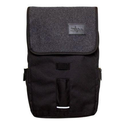 Zildjian Gray Flap Black Laptop Backpack