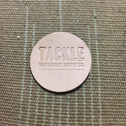 Tackle Instrument Supply Bass Drum Beater Patch, Small, Natural