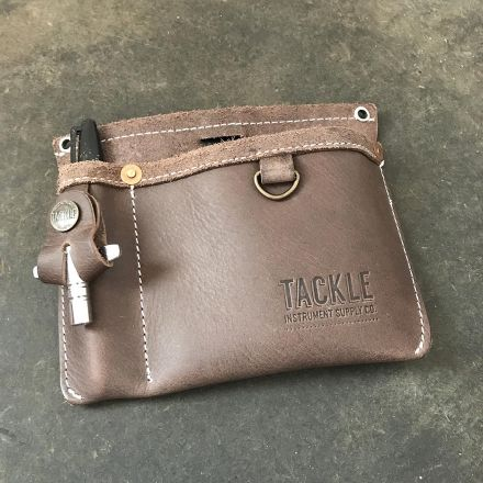 Tackle Instrument Supply Leather Clip-on Gig Pouch
