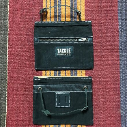 Tackle Instrument Supply Waxed Canvas Gig Pouch Black