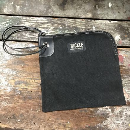 Tackle Instrument Supply Zippered Accessory Bag Black