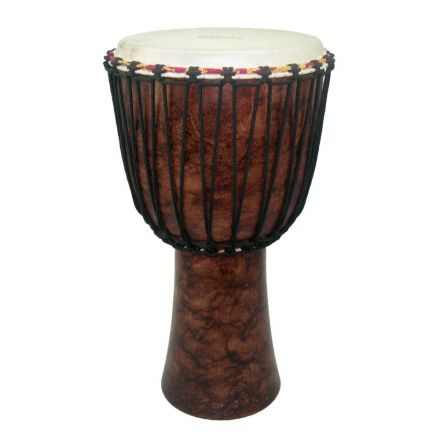 Tycoon 10 Roped-tuned Djembe, Brown Marble