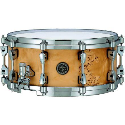 Tama Starphonic Maple Snare Drum 6x14 Satin Mapa Burl