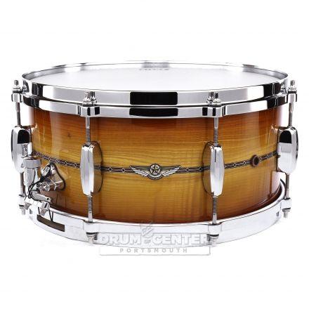 Tama Star Maple Limited Edition Snare Drum 14x6.5 Caramel Olive Ash Burst