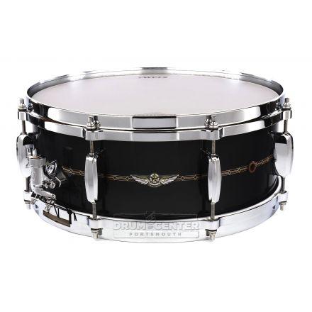 Tama Star Maple Snare Drum 14x5.5 Smoky Black