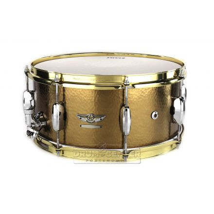 Tama Star Reserve Hand Hammered Brass 14x6.5 Snare Drum - DCP Exclusive
