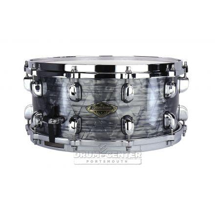 Tama Starclassic Walnut/Birch Snare Drum with Wrap Finish - 14x6.5 - Charcoal Onyx