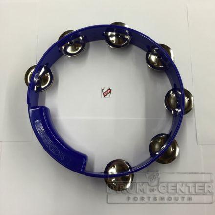 Rhythm Tech 8 True Colors Tambourine Cobalt Blue