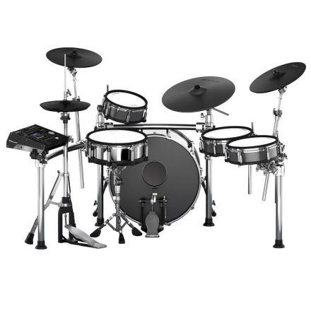 Roland TD-50KVX-S V-Drum Set [Boxes: TD-50KVA, TD-50DP, KD-220-BC, MDS-STAGE] - Refurb