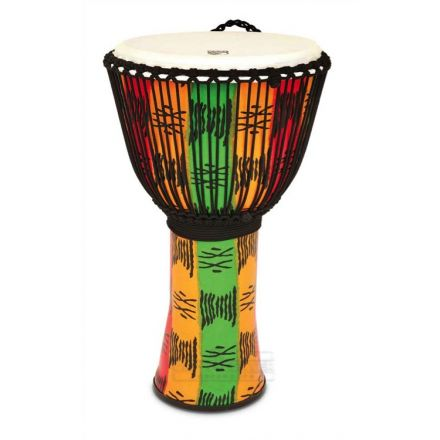 Toca Freestyle II Rope Tuned Djembe, Spirit 14 Inch with Matching Bag