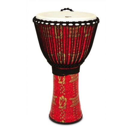 Toca Freestyle II Rope Tuned Djembe, Thinker 14 Inch with Matching Bag