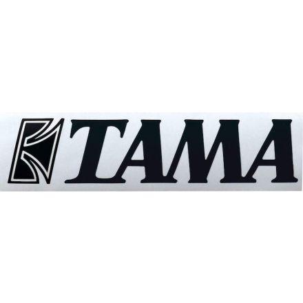 Tama Bass Drum Logo Decal Sticker - TLS70BK