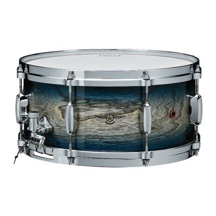 Tama Star Walnut Snare Drum 14x6.5 Indigo Japanese Sen Burst