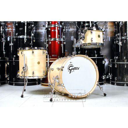 Gretsch USA Custom 3pc Jazz Drum Set Natural Gloss