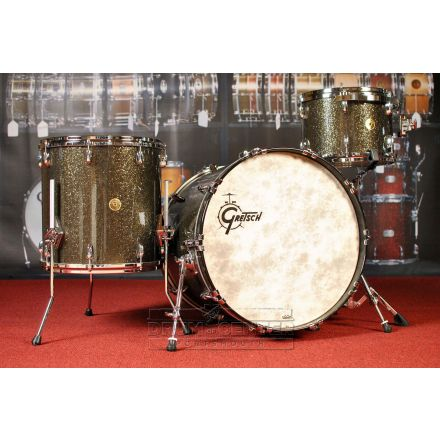 Gretsch USA Custom 3pc Drum Set Twilight Glass Glitter