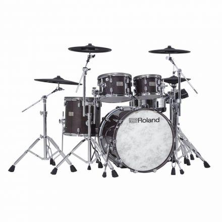 Roland V-Drums Acoustic Design 706 Kit - Gloss Ebony Finish