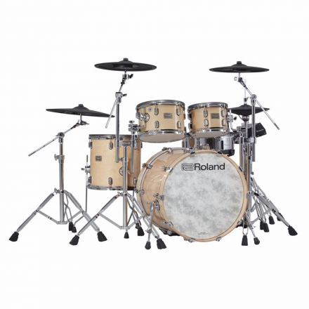 Roland V-Drums Acoustic Design 706 Kit - Gloss Natural Finish