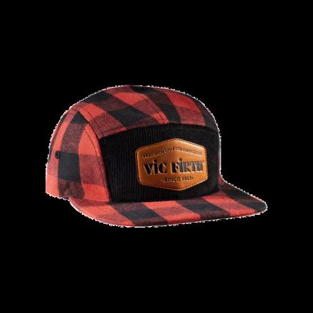 Vic Firth Ltd Flannel 5 Panel Camp Hat