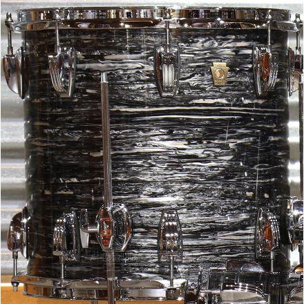 Ludwig Classic Maple Vintage Black Oyster 14x14 Floor Tom
