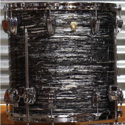 Ludwig Classic Maple Vintage Black Oyster 16x16 Floor Tom