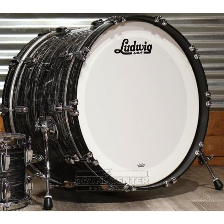 Ludwig Classic Maple Vintage Black Oyster 22x14 Bass Drum