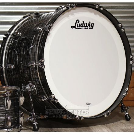 Ludwig Classic Maple Vintage Black Oyster 24x14 Bass Drum
