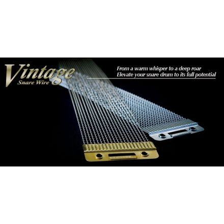 """Canopus Vintage Snare Wire for 13"""" Chrome Plated"""