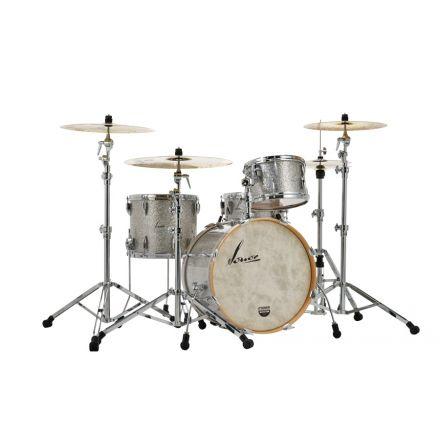 Sonor Vintage Series 22bd 3pc Drum Set w/Mount - Vintage Silver Glitter