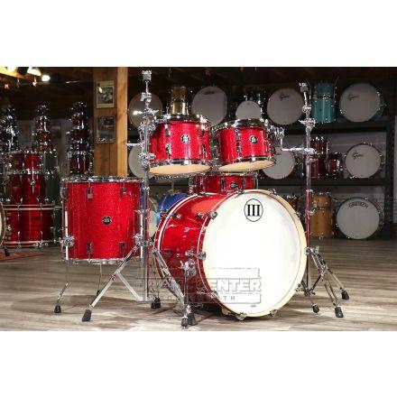 WFLIII Generations 5pc Drum Set Red Glitter
