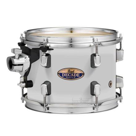 "Pearl Decade Maple 8""x7"" Tom - White Satin Pearl"