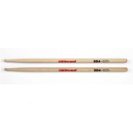 Wincent SD4 Maple Drum Sticks - Round Tip