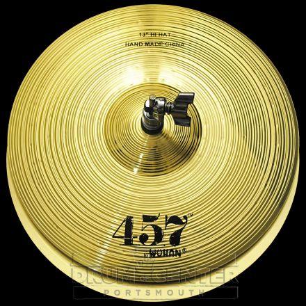 "Wuhan 457 Hi Hat Cymbals 13"""