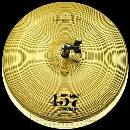 "Wuhan 457 Hi Hat Cymbals 14"""