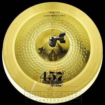 "Wuhan 457 Rock Hi Hat Cymbals 14"""