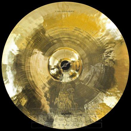 "Wuhan Medium Thin Crash/Ride Cymbal 21"""