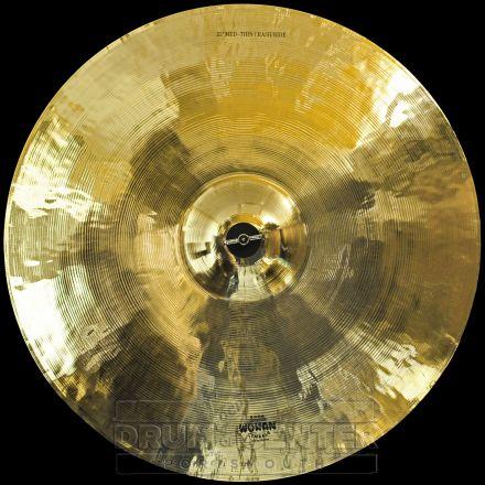 "Wuhan Medium Thin Crash/Ride Cymbal 22"""