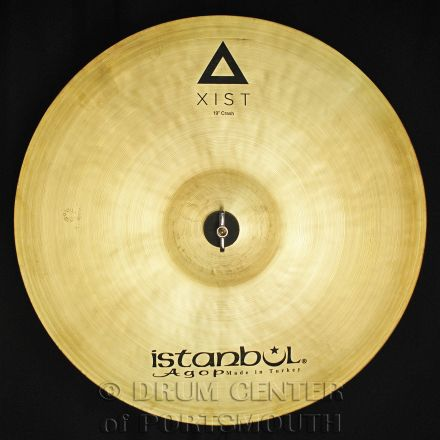 "Istanbul Agop Xist Natural Crash Cymbal 19"""