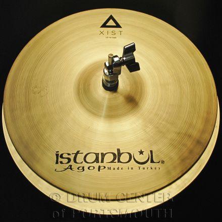 """Istanbul Agop Xist Natural Hi Hat Cymbals 13"""""""
