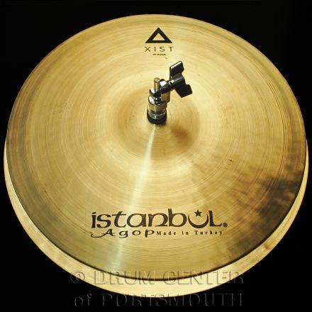 """Istanbul Agop Xist Natural Hi Hat Cymbals 15"""""""