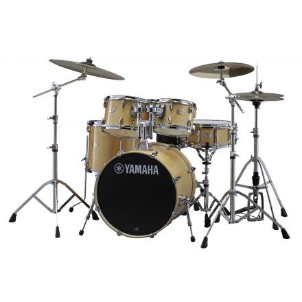 Yamaha Stage Custom Birch SBP0F57NW Drum Set w/780 Hardware - Natural Wood