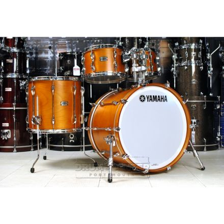 Yamaha Recording Custom 4pc Rock Drum Set Real Wood