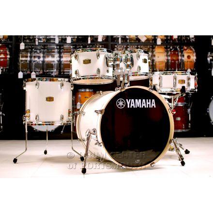 "Yamaha Stage Custom Birch 5pc Drum Set w/ 20"" BD Pure White"