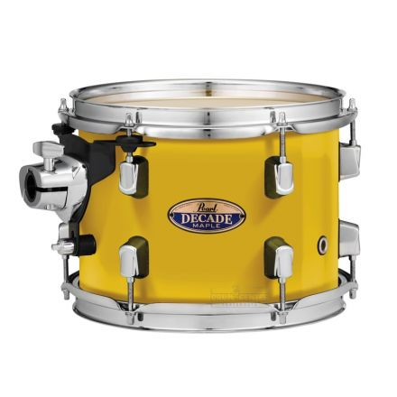 """Pearl Decade Maple 16""""x16"""" Floor Tom - Solid Yellow"""