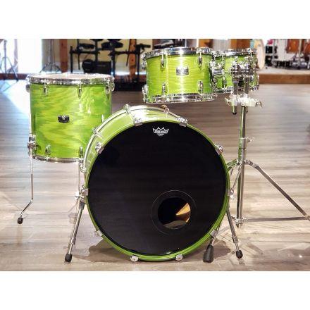 Used Yamaha Rock Tour Custom 4pc Drum Set - Satin Green